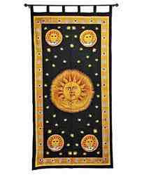 Celestial Curtain - 13 Moons, Supplies for Wiccan, Pagan, Witch