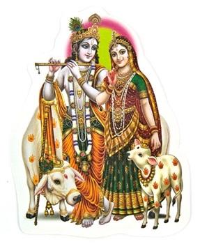 Radha And Krishna Stickers Wholesale