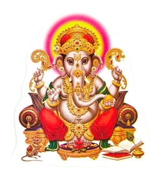 Lord Ganesh Stickers Wholesale